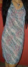 Elegantes Vintage Schiesser Enka Comfort Unterkleid Gr. 46 Negligee neu (H209)