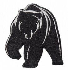 Grizzly Bear Wild Animal Zoo Animal Embroidered Iron On Or Sew On Patch Alaskan