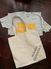 McDonald Morning Eggsentials VH1 MTV Comedy Central heavy duty bag & t-shirt M