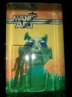 NYCC DKE Toys Manly Art Bounty Hunter Greedo Star Wars HAND PAINTED CARD 19/24