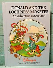 Disneys Donald and the Loch Ness Monster An Adventure in Scotland Book Free Ship