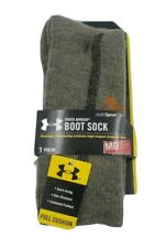 1 Pair Under Armour Boot Socks Men's Shoe Size 4-8.5, M, Outdoor, Gift L19