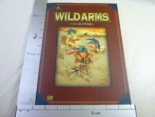 WILD ARMS Fargaia Chronicle Art Guide Book PS SB*
