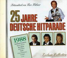 25 JAHRE DEUTSCHE HITPARADE 1988 - CD - Roland Kaiser, Roy Black, Nino de Angelo