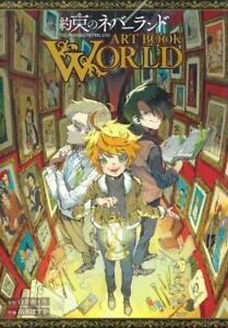 The Promised Neverland World Artbook (Japan Import)  * ARTBOOK *neu