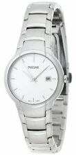 Pulsar Ladies PXT677 Silver Tone Date Function Watch