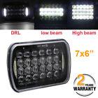 """7x6"""" 5D CREE LED Headlight Halo DRL For 86-95 Jeep Wrangler YJ 84-01 Cherokee XJ"""