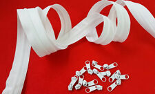QUALITY CONTINUOUS CHAIN ZIP NO.3 (3mm) CHAIN ZIP AND SLIDERS BY THE METRE