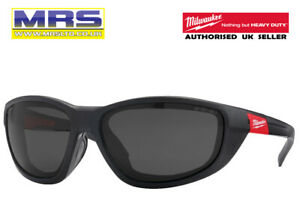 MILWAUKEE PREMIUM SAFETY GLASSES WITH GASKET - TINTED & POLARISED - 4932471886