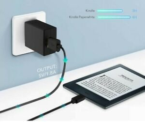 Fire Kindle Power Adapter & Micro Cord Cable Tablet Stick Tv Charger for Amazon