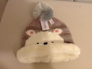 girls knitted hat from clairs