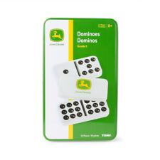 John Deere Dominoes Double 9 Kids/family Educational Classic Dominoes Game 8y