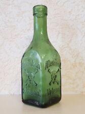 Skull & Crossbones embossed Poison bottle
