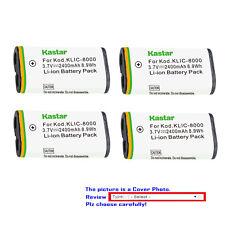 Kastar Replacement Battery for Kodak KLIC-8000 & Kodak Z1015 IS Kodak Z1085 IS