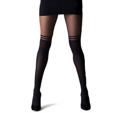 Women Girl Sexy Pantyhose Design Pattern Printed Tattoo Stockings Tights Grace