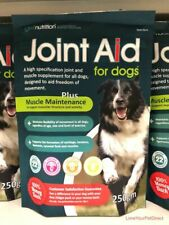 Dogs Joint Aid  Arthritis Healthy Dog Muscles and Joints Supplement by GWF