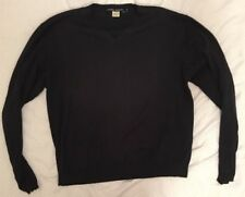 Laundry Industry Mens Sweater Black Size M Made In Holand MSR $105