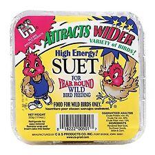 Box Of 12 = High Energy Suet For Wild Birds 689919 x12