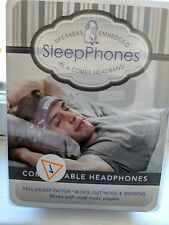 SleepPhones Classic Headphones | Ultra Thin Speakers in Lightweight & Headband