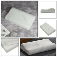 CONTOUR MEMORY FOAM PILLOW ORTHOPAEDIC FIRM HEAD NECK BACK SUPPORT PILLOWS