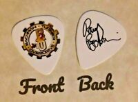 BTO - BACHMAN TURNER OVERDRIVE Band Signature  Logo guitar pick  -(K)