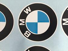 4x BMW BMW Logo Vinyl  Stickers Car Motorbike 100% vinyl NOT Printed 50mm