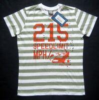 PIROUETTE Jungen T-Shirt  Gr. 140 mehrfarbig gestreift mit Motiv