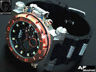 LS22a Men's X-Large Oversized Black Dial ANA-DIGI LED Alarm Date Quartz Watch