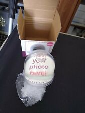 New In Box Photo Glitter Globe