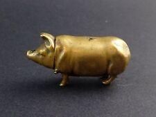 Ancien petit cochon pyrogène XIXeme boite d'allumette