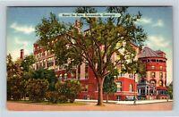 Savannah GA, Hotel De Soto, Street View, Linen Georgia Postcard X8