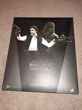 Sideshow Hot Toys Star Wars Han Solo Chewbacca Set Mint 1/6 MMS263 BIB FREE SHIP