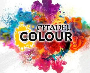 Games Workshop - Citadel Farben zur Auswahl (Contrast, Base, Layer, Shade, Dry)
