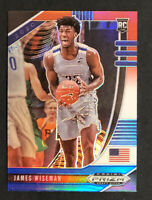 2020-21 Panini Prizm Draft Picks JAMES WISEMAN RC Red White Blue Refractor #2🔥