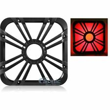 "Kicker 11L712GLC 12"" Square Subwoofer Grille w/ LED Lighting for Solo-Baric L7"