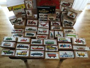 Juguetes de hojalata.Colección 50 Juguetes de Antaño de Payá. Blechspielzeuge.