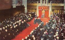 Opening of Parliament Senate Chamber Ottawa Ontario ONT 201