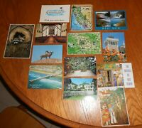 LOT OF POSTCARDS WITH CALIFORNIA THEME- VINTAGE