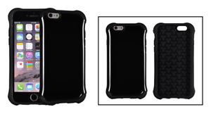 Protection Coque Arrière / Bumper Gel Silicone (Noir) ~ Apple iPhone 6