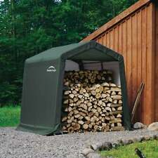 Rowlinsons 8x8 Shelter Logic Shed in a box