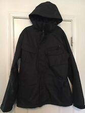 Burton Dry Ride Men's Lined TRACTION Snowboard Jacket Coat XL Charcoal Gray
