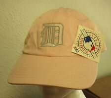 DETROIT TIGERS pink Olde English logo baseball hat NWT women's cap 2006 Champion