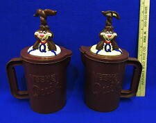 Vintage Nestle Quik Bunny Rabbit Mixer Pitcher Mug Fun In Making Chocolate Milk