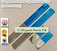 Door Sill Panel Scuff Step Protect Plate Kick for Land Range Rover Sport 2005-13