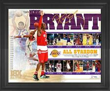 "Kobe Bryant Los Angeles Lakers Framed 16"" x 20"" ASG Commemorative Collage"