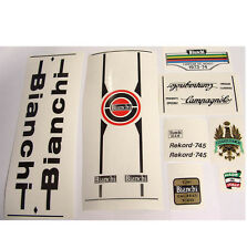 Bianchi Rekord 745 decal set for Campagnolo vintage
