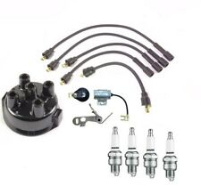 Massey Ferguson MF50 MF150 Distributor Ignition Tune up kit w/ USA Copper wires