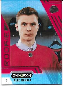 20-21 2020-21 Synergy Alec Regula ROOKIE RED Parallel #83-Blackhawks