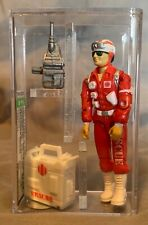 1991 Hasbro Gi Joe Lifeline v3 AFA U85 NM+ - Kellogg's Mail-in