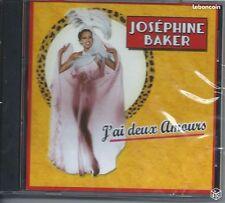 CD Joséphine BAKER J'ai deux Amours 26 Titres  NEUF Cello